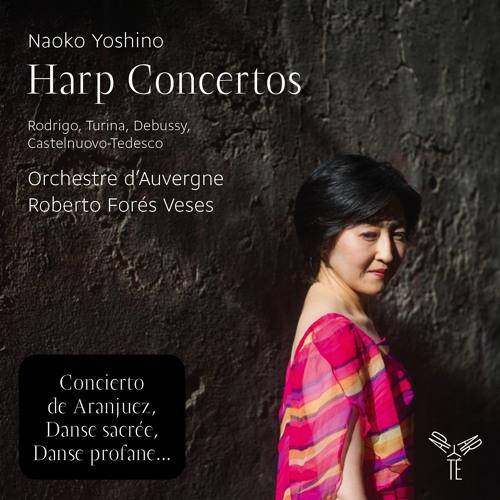 Pochette Concertos pour harpe@Aparté
